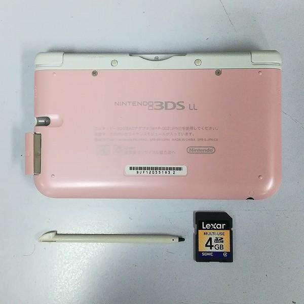 Nintendo 3DS LL ピンク×ホワイト_3