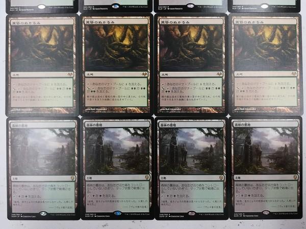MTG 日本語版 16枚 草むした墓 ラノワールの荒原 花盛りの湿地 他_3