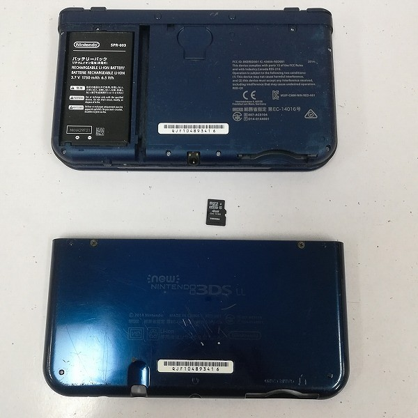 new ニンテンドー 3DS LL メタリックブルー_3