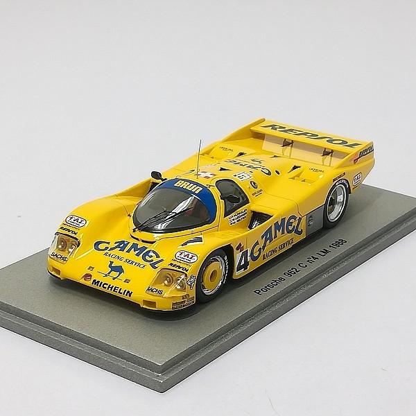 スパーク spark 1/43 ポルシェ 962 C #4 LM 1988 イエロー_2