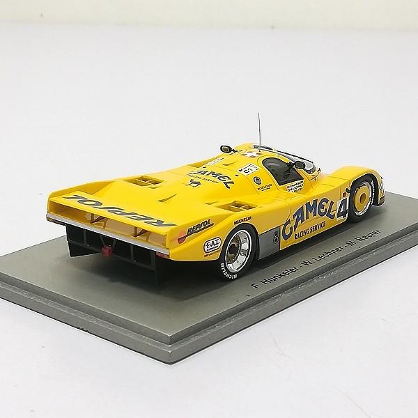スパーク spark 1/43 ポルシェ 962 C #4 LM 1988 イエロー_3
