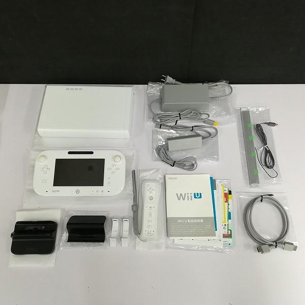 ニンテンドー WiiU マリオカート8セット 32GB Shiro_3