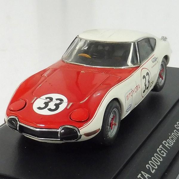 エブロ 1/43 トヨタ2000GT レーシングSCCA 1968 #33 #23_2