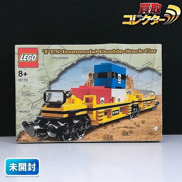 LEGO レゴ TTX Intermodal Double-Stack Car 10170_1