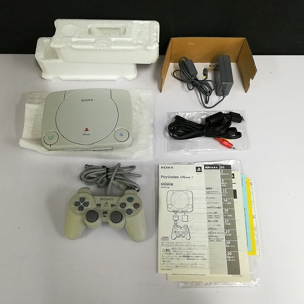 SONY PS ONE SCPH-100 + LCD液晶モニター SCPH-130_3