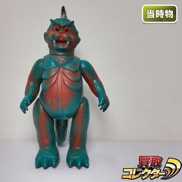 マルサン ウルトラQ ゴメス 怪獣 ソフビ 日本製