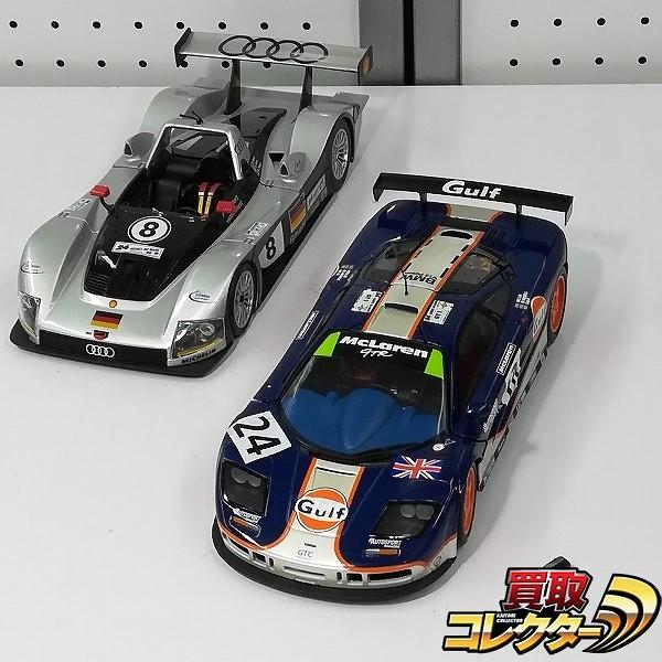 1/18 UTモデル マクラーレン F1 GTR #24 Maisto アウディ R8R #8