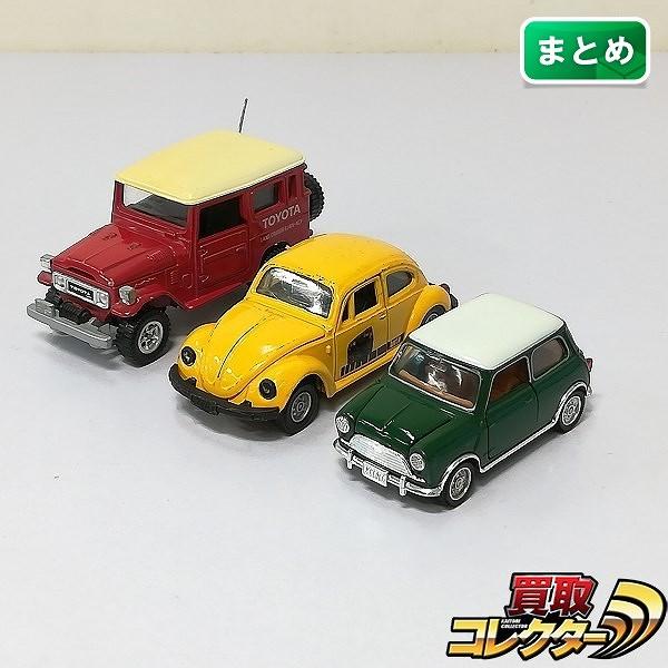 トミカ ダンディ 1/43 トヨタ ランドクルーザー モーリス ミニクーパーS Mk-1 他