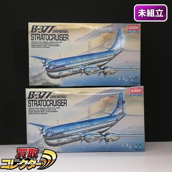 アカデミー ACADEMY 1/72 B-377 ストラトクルーザー ×2
