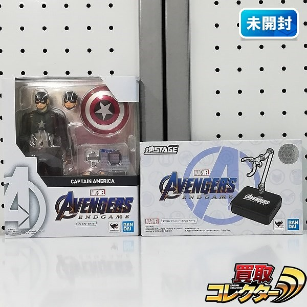 S.H.Figuarts キャプテン・アメリカ アベンジャーズ/エンドゲーム + 魂STAGE アベンジャーズ/エンドゲーム_1