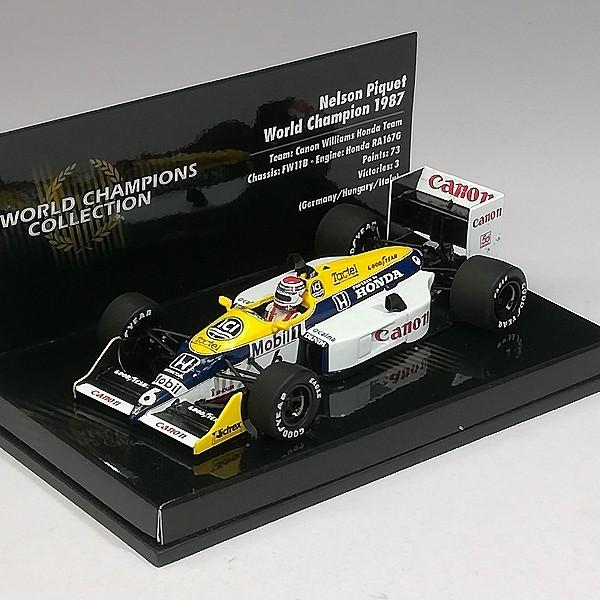 PMA ミニチャンプス 1/43 ウィリアムズ ホンダ FW11B #6 1987 ネルソン・ピケ_2