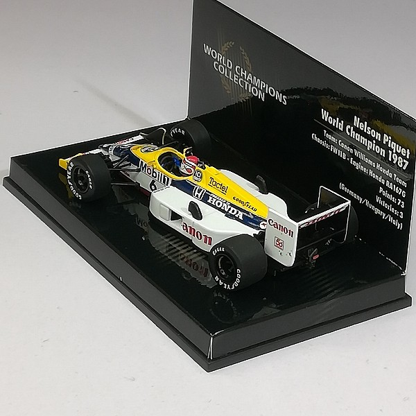 PMA ミニチャンプス 1/43 ウィリアムズ ホンダ FW11B #6 1987 ネルソン・ピケ_3