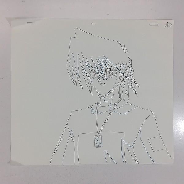 テレビ東京 遊戯王 デュエルモンスターズ レイアウト用紙 城之内_3