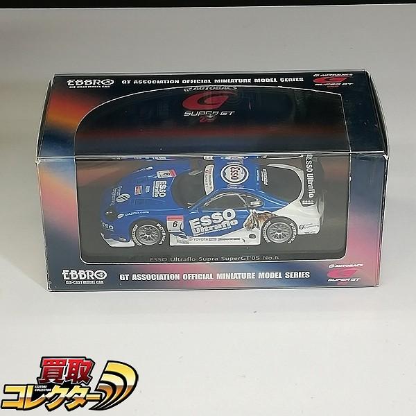 EBBRO 1/43 エッソ ウルトラフロー スープラ スーパーGT 2005 #6
