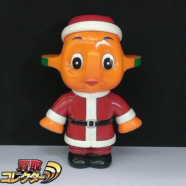 佐藤製薬 サトちゃん サンタ ソフビ 貯金箱 コインバンク 全高約31cm_1
