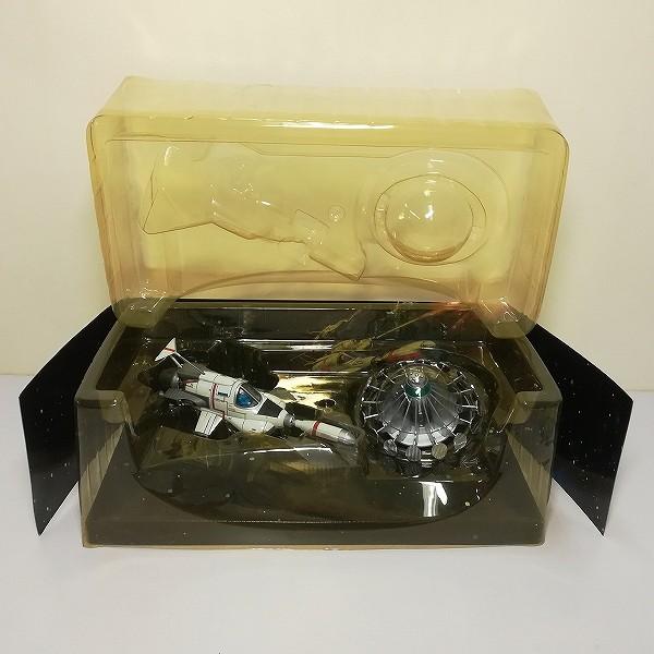 ミラクルハウス 新世紀合金 謎の円盤UFO インターセプター&UFO_2