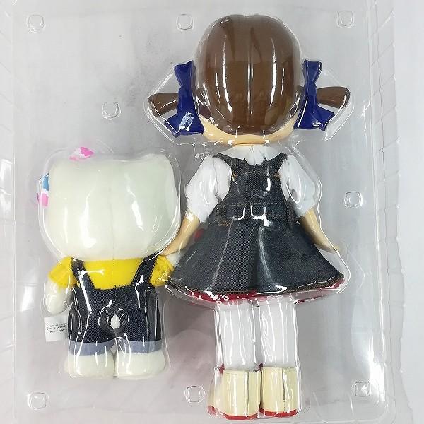 不二家 ハローキティ×ペコちゃん オリジナル コラボドール_3