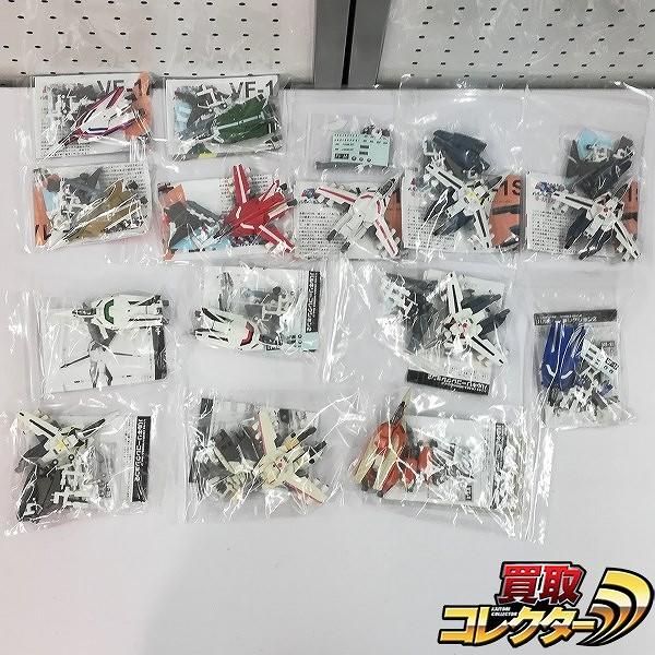 F-toys 1/144 超時空要塞マクロス バルキリーコレクション vol.1 vol.2 各7種_1