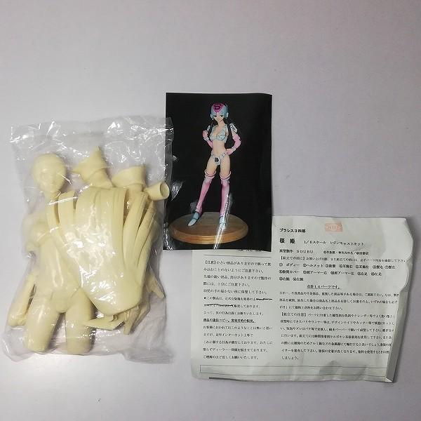 DO! LUCK ガレージキット プラレス3四郎 1/6 桜姫_2