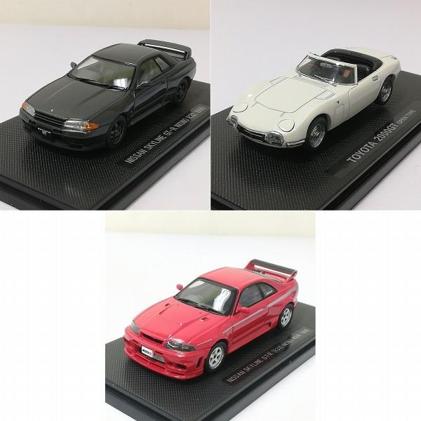 エブロ 1/43 ニッサン スカイライン GT-R(R33) ニスモ 400R 1996 他_2