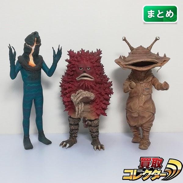 エクスプラス 大怪獣シリーズ ケムール人 ガラモン カネゴン_1