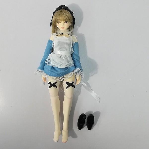 碧い月 オリジナルドール 1/6 弾姫 メイド服 本体全高約24cm_2