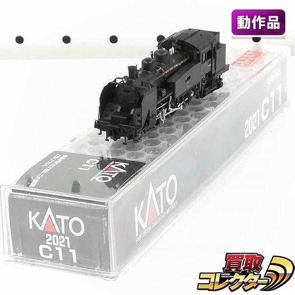 KATO 2021 C11 蒸気機関車_1