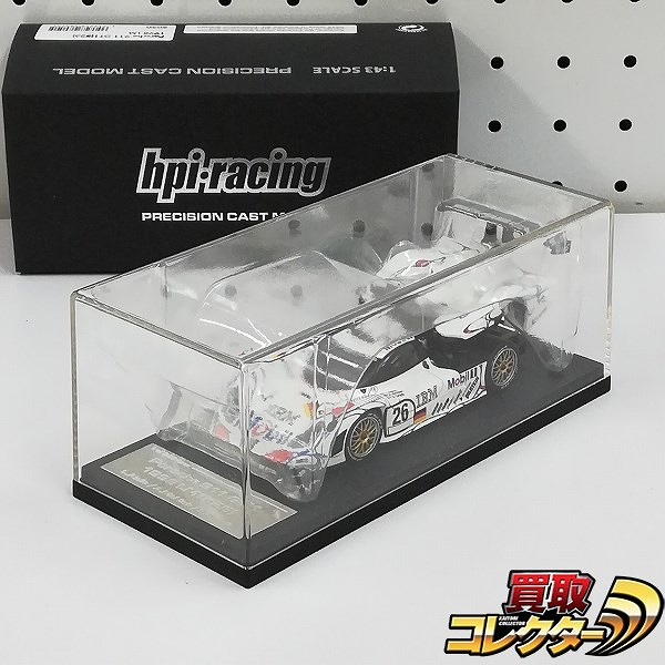 hpi・racing 1/43 ポルシェ911 GT1 #26 1998 LM 8050