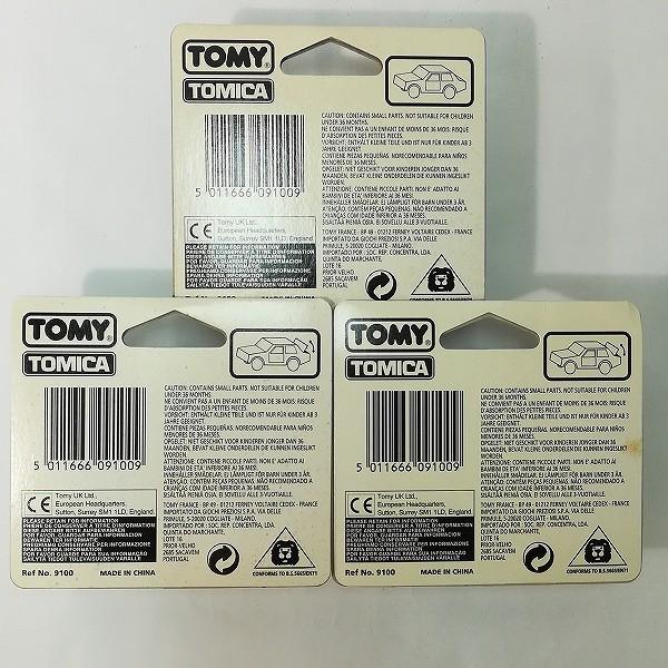 ヨーロッパ輸出用 トミカ シトロエン2CV マセラティメラクSS デトマソパンテーラGTS_2