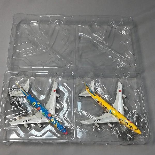 全日空商事 1/500 ANA ポケモンジェット セット JA8956 JA8957_3