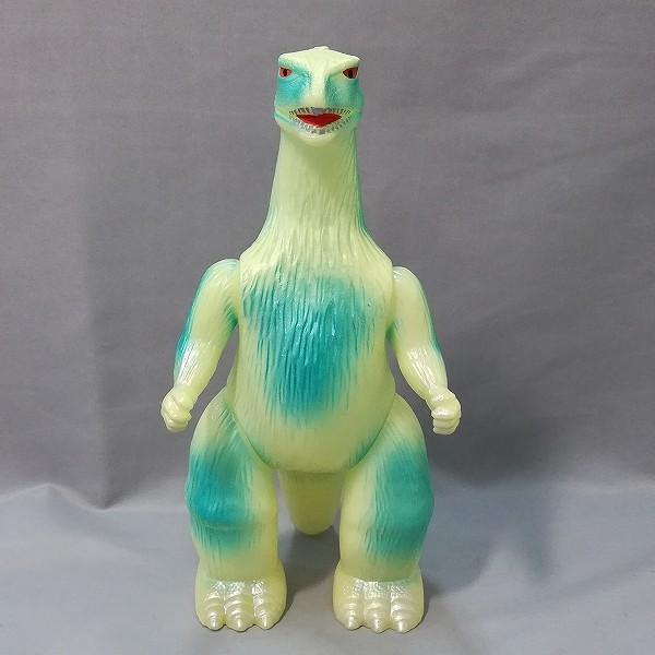 M1号 ブルマァク 世紀の大怪獣 ブルマァクの怪獣シリーズ ゴジラ 蓄光 ソフビ_2