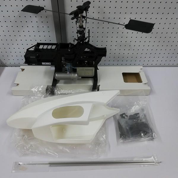 京商 エンジンRCヘリ キャリバー30 半完成品 OS 32SX-H 20C エンジン付き_3
