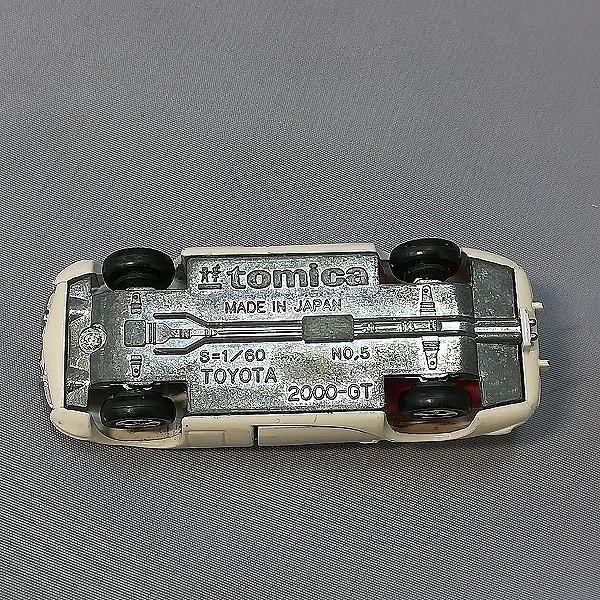 トミカ 黒箱 日本製 5-1-1 トヨタ 2000GT 1Aホイール_3