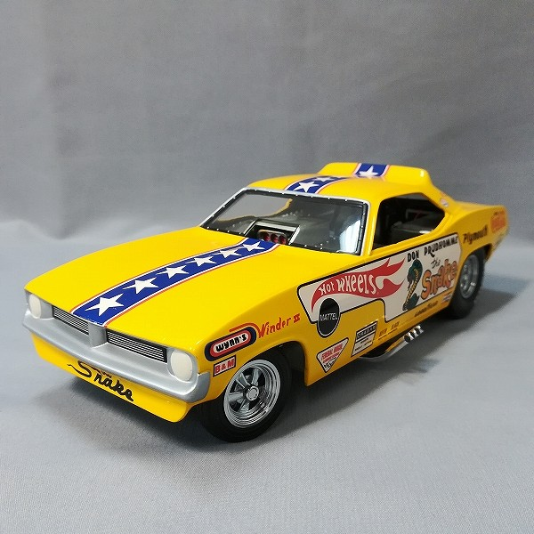 HOT WHEELS LEGENDS TO LIFE Don Snake Prudhomme_3