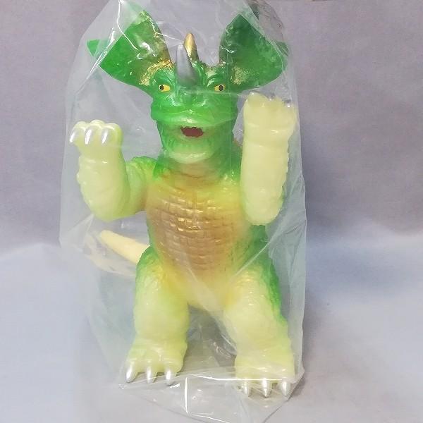 スラッシュカンパニー 怪獣愛蔵組 復刻 バラゴン 蓄光 グリーン_3