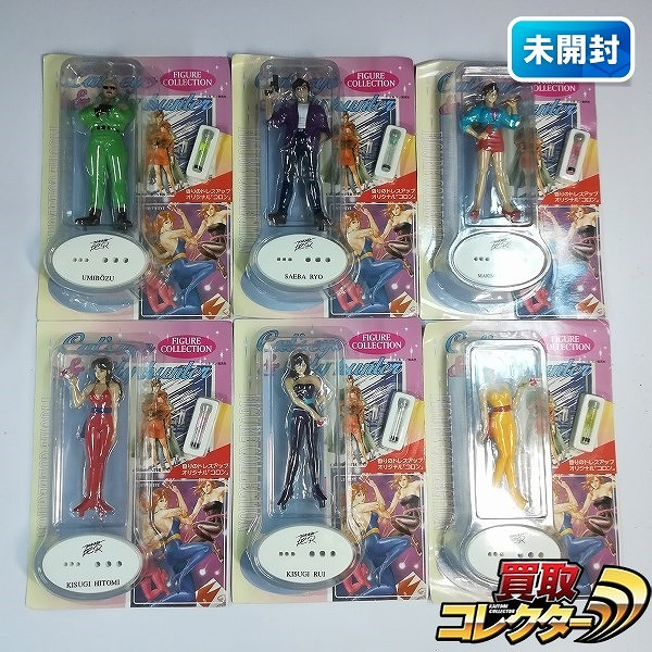 キャッツアイ & シティハンター フィギュアコレクション 全6種_1