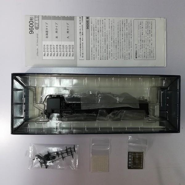 天賞堂 HOゲージ 51018 9600形 蒸気機関車 本州タイプ 標準デフ_2