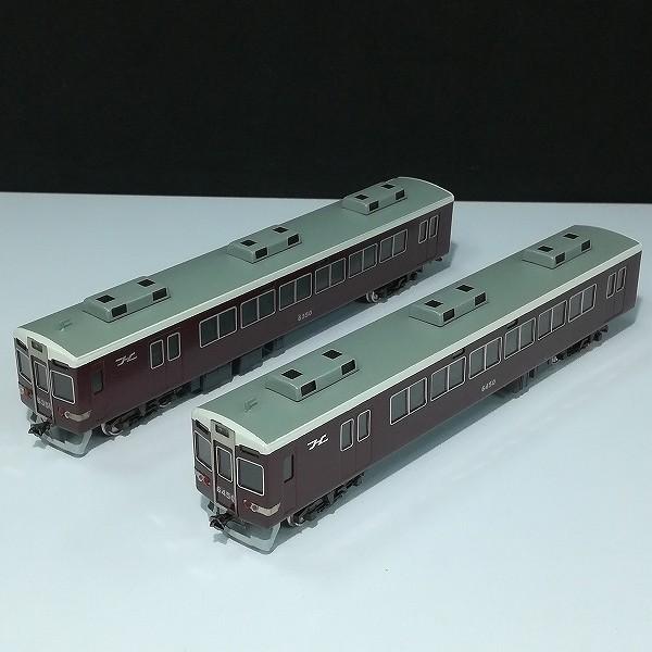 京都模型 HO 阪急 6350型 大阪寄 先頭車 6450型 京都寄 先頭車_3