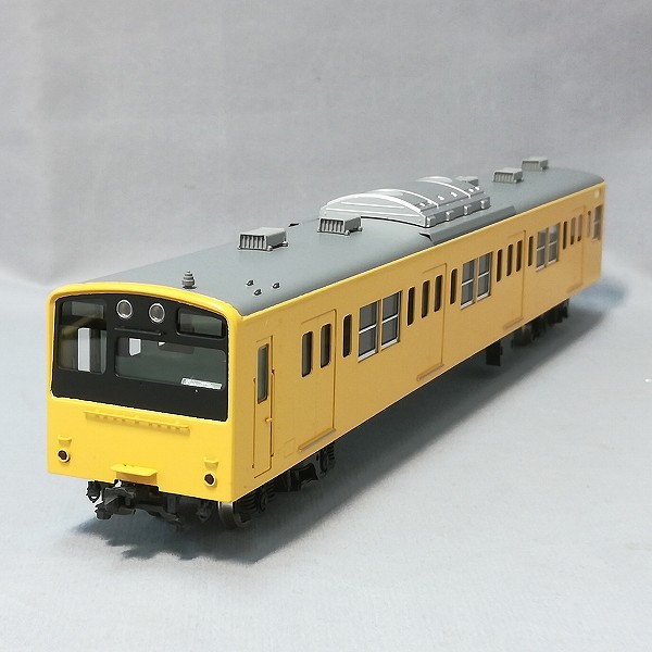 エンドウ HO 201系 通勤形電車 クハ201 黄 中央 総武緩行線色_3