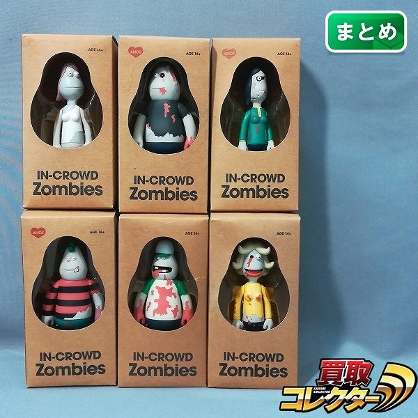 AMOS TOY IN-CROWD Zombies 6種_1