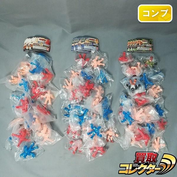 キン肉マン キンケシ 01~03 各弾コンプ カラーリングver.含む_1