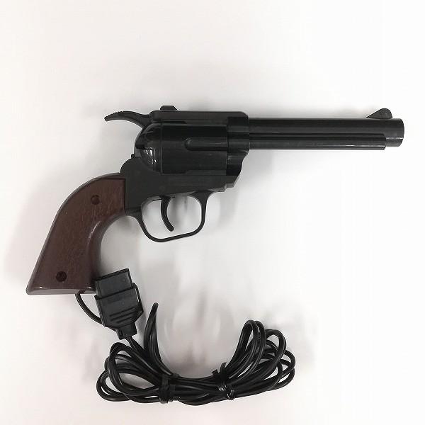 ファミコン FC 周辺機器 光線銃 ガン + ソフト ワイルドガンマン ダックハント ホーガンズアレイ_2