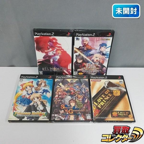 PlayStation 2 ソフト フェイト/アンリミテッドコード メルティブラッド アクトカデンツァ 他_1