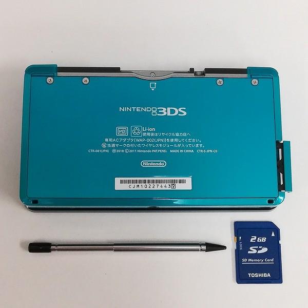Nintendo 3DS アクアブルー 拡張スライドパッド付 + 3DS ソフト モンスターハンターXX_2