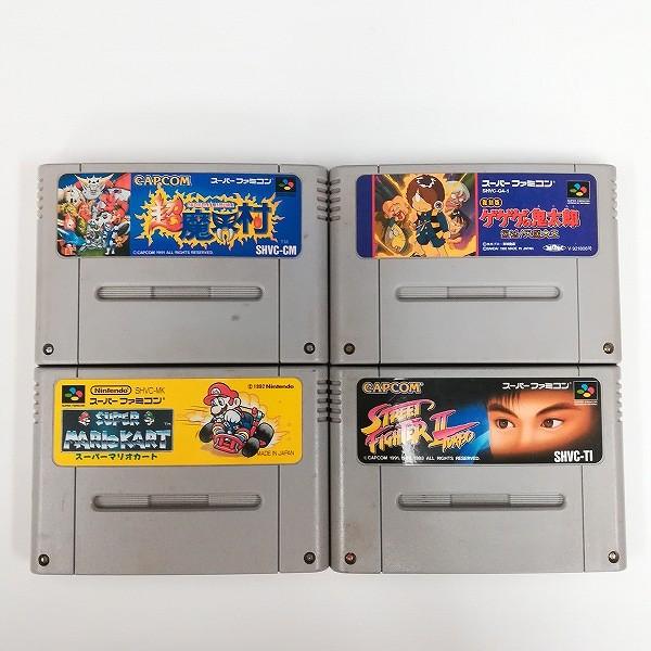 スーパーファミコン SFC ソフト スーパーマリオカート ゲゲゲの鬼太郎 復活!天魔大王 他_3