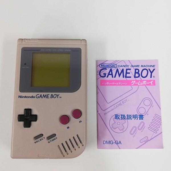 ゲームボーイ 初期型 + ゲームボーイ ソフト ポケットモンスター 赤 地図付_2