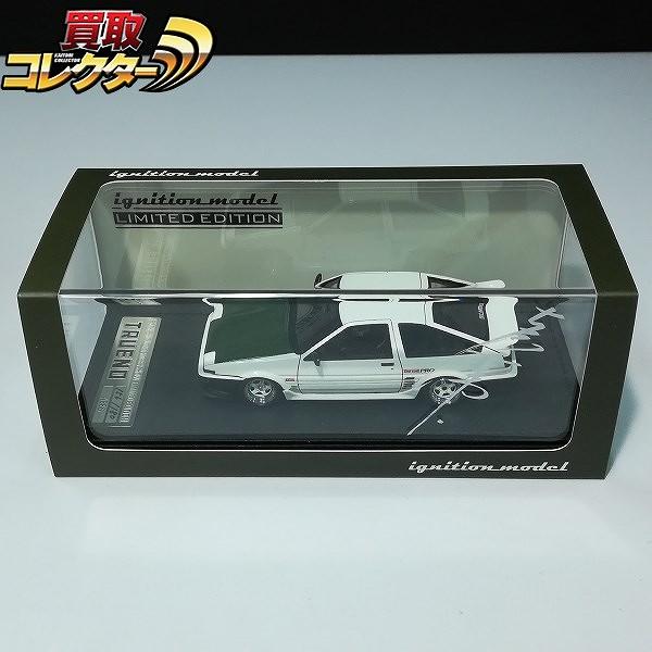 イグニッションモデル 1/43 トヨタ スプリンタートレノ AE86 3ドア Ver.ホワイト_1