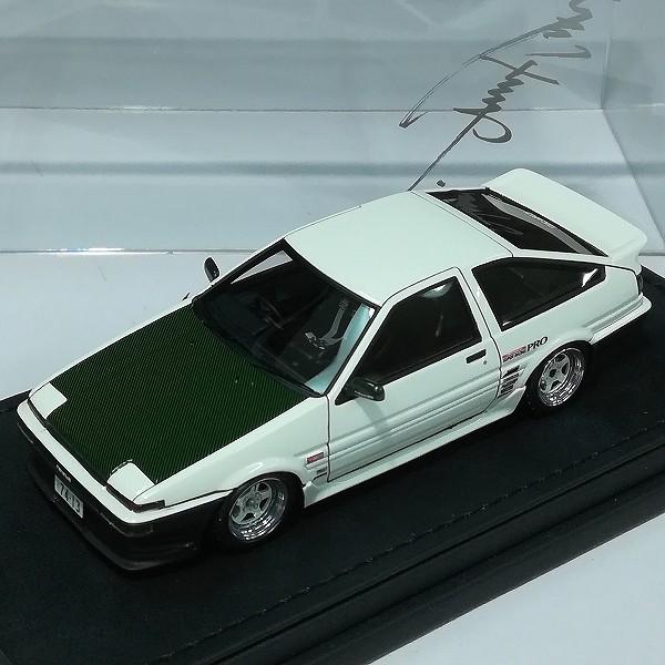 イグニッションモデル 1/43 トヨタ スプリンタートレノ AE86 3ドア Ver.ホワイト_2