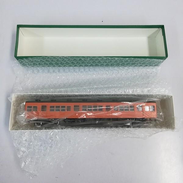 ペーパー製 HO モハ 72954 片町線 旧国電_3