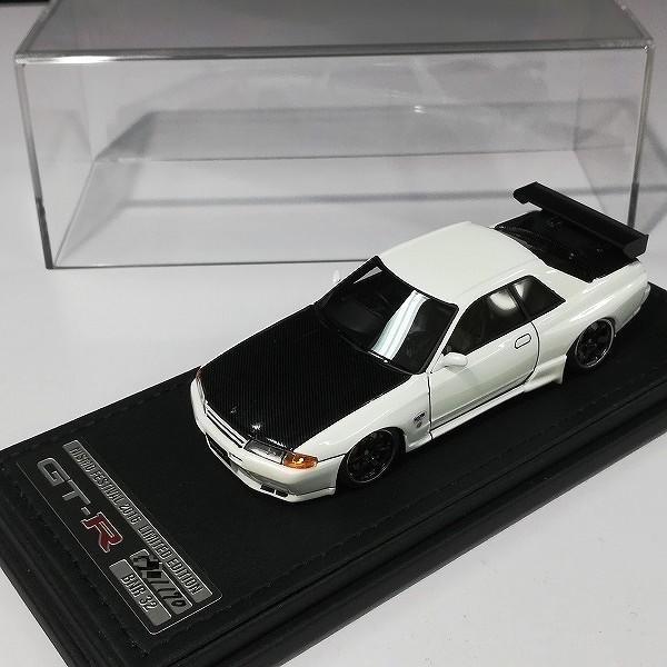 イグニッションモデル 1/43 スカイライン GT-R ニスモ R32 ホワイト_2